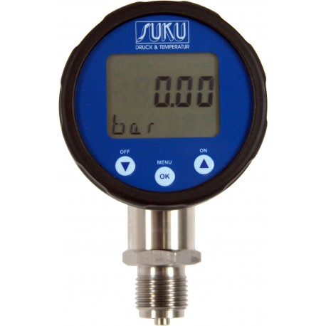 Type 3320 Digital pressure gauge NS80, acc.0,25 %