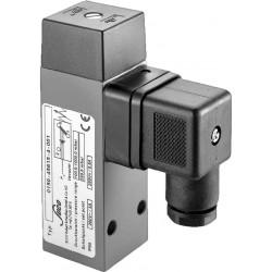 Type 0150 SUCO-Vacuum switch, changeover, body aluminium, max. 250V
