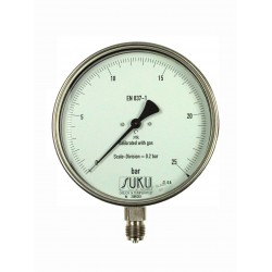 Typ 8801 Feinmessmanometer NG160, Chemieausführung, S3-Sicherheitsausführung