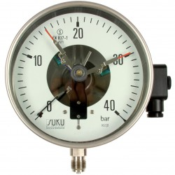 Type 6581 Contact pressure gauge NS160, S3-safety execution