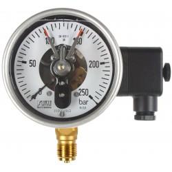 Typ 7911 Rohrfeder-Kontaktmanometer NG100 mit Ölfüllung