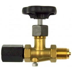 Typ 60, Absperrventil Zapfen x Spannmuffe, DIN 16270