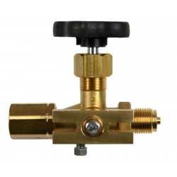 Type 71 Pressure gauge valve with test flange, 60x25