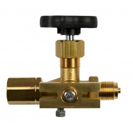 Typ 71 Manometerventil mit Prüfflansch, 60x25, DIN 16271