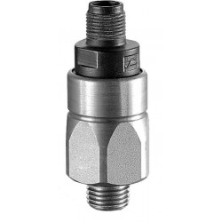 Type 0123 SUCO-Piston pressure switch, 24 A/F, with integrated plug