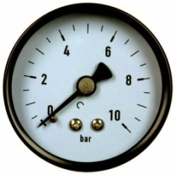 Type 4251, Bourdon tube pressure gauge NS50, connection back