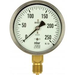 Typ 5631, Kapselfedermanometer NG100, Anschluss unten