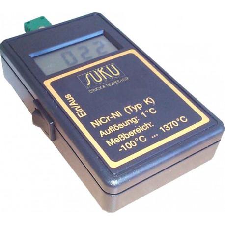 Typ 7090 Digitales Handthermometer für Fühler Typ K