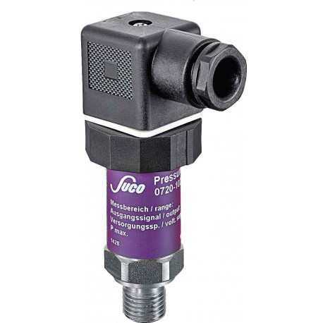 Type 0705 SUCO-Pressure transmitter, Output signal 0,5...4,5V, Accuracy 0,5%