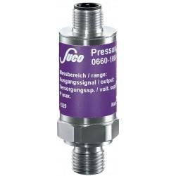 Typ 0650 SUCO-Drucktransmitter, Ausgangssignal 0...10V, Genauigkeit 0,5%