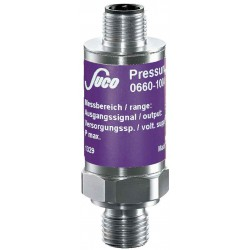 Type 0645 SUCO-Pressure transmitter, Output signal 0.5...4.5V, accuracy 0,5%