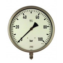 Type 5351 Pressure gauge with Bourdon tube NS250, connection bottom