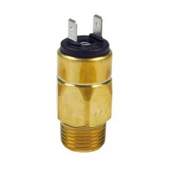Type 0167 SUCO-Diaphragm pressure switch, body brass, max. 42 V