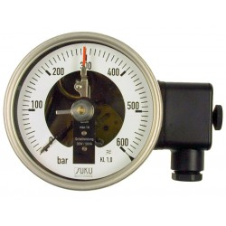 Type 6111, Contact pressure gauge NS100, connection back