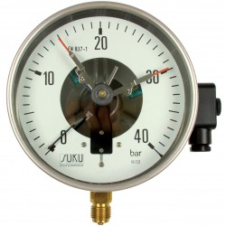 Type 6211, Contact pressure gauge NS160, connection bottom