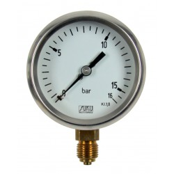 Type 1430 Test pressure gauges NS 63, accuracy 1