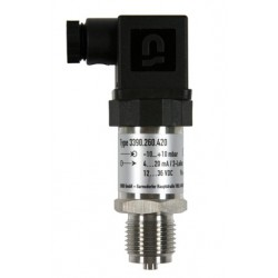 Type 3390, HEIM-Pressure sensor with internal diaphragm, lower pressure, 4-20 mA