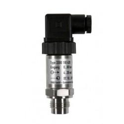 Typ 3380, HEIM-Drucksensor mit frontbündiger Membran für Über- und Absolutdruck, 4-20 mA