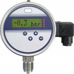 Type 3310, Digital pressure gauge NS100 with contacts