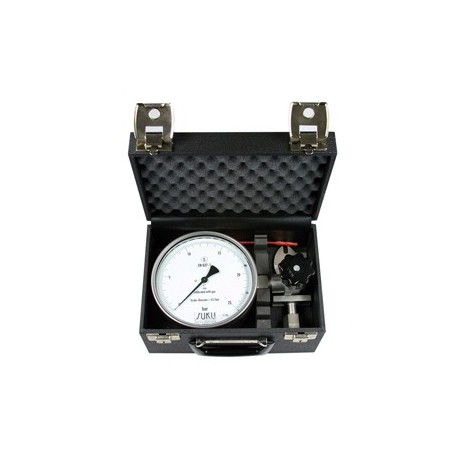 Type 8701, Precision test gauge NS160, connection lateral, in carrying case