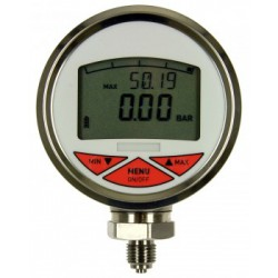 Type 3322, Digital pressure gauge NS80, bar graph display, 2.display