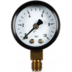 Type 4101, Bourdon tube pressure gauge NS40, connection bottom