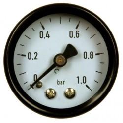 Typ 4151, Rohrfedermanometer NG40, Anschluss hinten