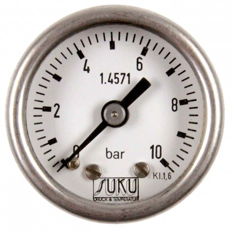 Type 4151, Bourdon tube pressure gauge NS40, connection bottom