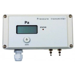 Type 5357, Differential pressure sensor for low and differential pressure, with display