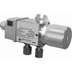 Type 5352 Differential pressure switch with long service life