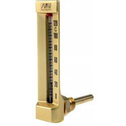 Typ 23, Maschinenthermometer, Winkel 90°, Bauhöhe 150x36