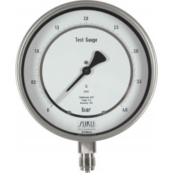 Typ 8811 Feinmessmanometer NG160, Chemieausführung, mit Spiegelskale