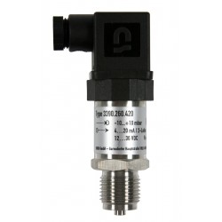 Type 3395 HEIM-Pressure sensor with internal diaphragm for lower pressure, 0-10 VDC