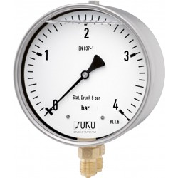 Typ 5637, Differenzdruckmanometer NG160 mit Rohrfeder
