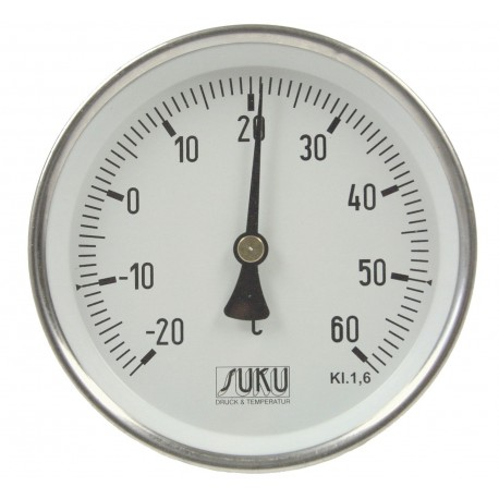Type 04 Ventilation duct bimetal-thermometer