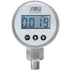 Type 2260, Digital pressure gauge ND 63 with output signal, accuracy 0,5 %
