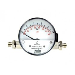 Type 5600 Differential pressure measuring instrument with magnetic piston DN80