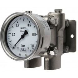 Type 5594, Differential pressure gauge NS 160 with diaphragm
