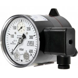 Type 2591, Differential pressure gauge NS100 with 1 switch