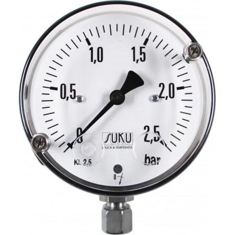 Type 5590, Differential pressure gauge NS100 with diaphragm seal