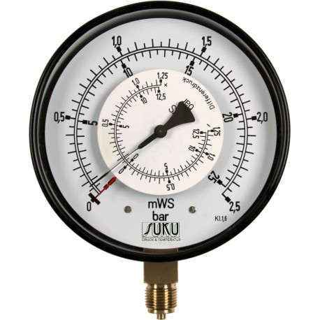 Type 5635 Differential pressure gauge NS 160