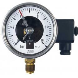 Typ 6001, Kontaktmanometer NG100, Anschluss unten