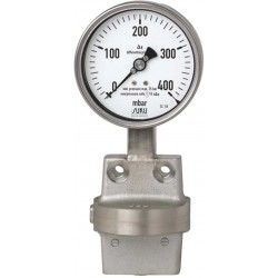 Type 2700 Differential pressure gauge NS 100, high overload protected